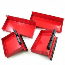4 PC Magnetic Tray Set Red