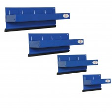 4 PC Magnetic Tray Set Blue