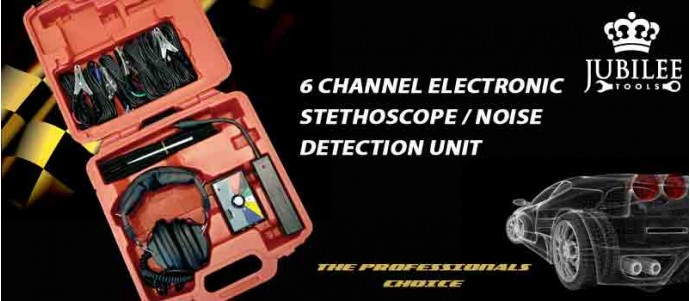 6 channel electronic STETHOSCOPE