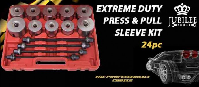 Extreme duty press pull sleeve kit