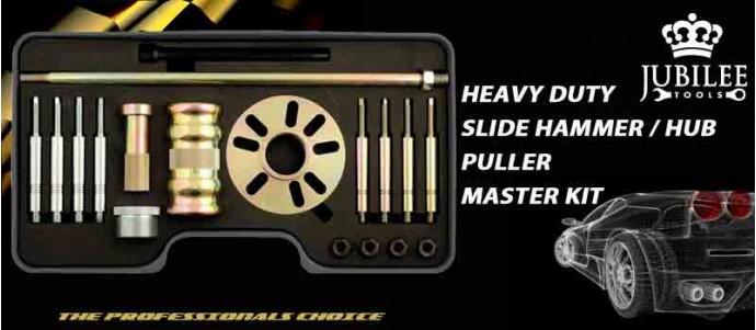 HEAVY DUTY SLIDE HAMMER / HUB PULLER MASTER KIT