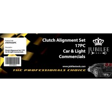 CLUTCH ALIGNMENT SET 17PC - CAR & LIGHT COMMERCIAL
