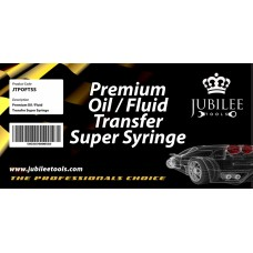 PREMIUM OIL / FLUID TRANSFER SUPER SYRINGE