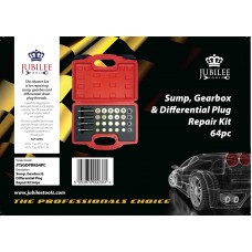 SUMP GEARBOX & DIFFERENTIAL PLUG REPAIR KIT 64PC