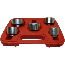 "SLIMLINE SPECIALIST OIL FILTER SOCKET SET 3/8"" DR 5PC"