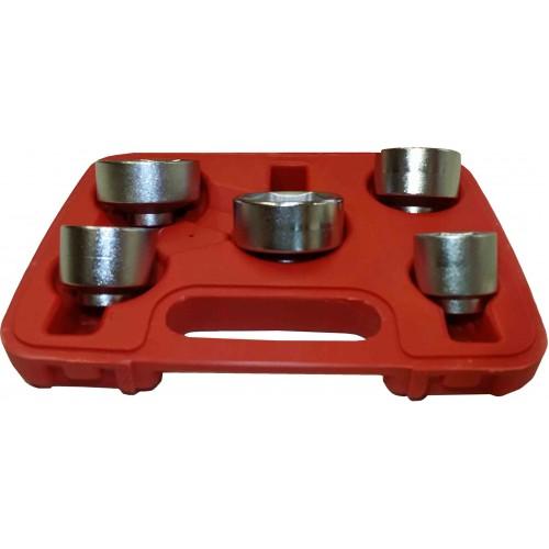 Slimline Specialist Oil Filter Socket Set 3  8 U0026quot  Dr 5pc