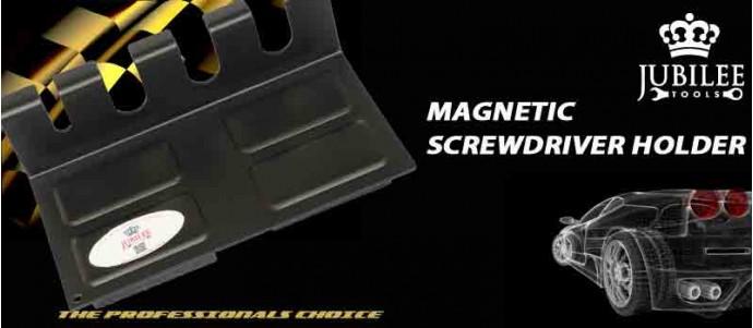 Magnetic Screwdriver Holder - Black