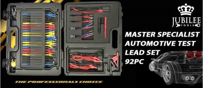 MASTER SPECIALIST AUTOMOTIVE TEST LEAD SET 92PC