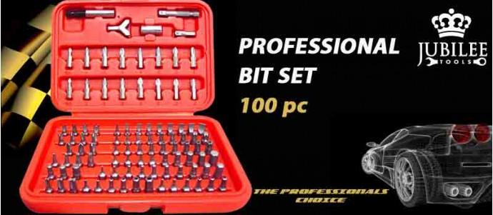 Professional 100pc bit set