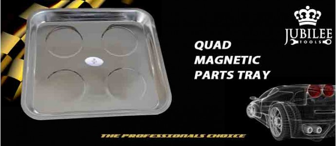 Quad Magnetic Parts Tray