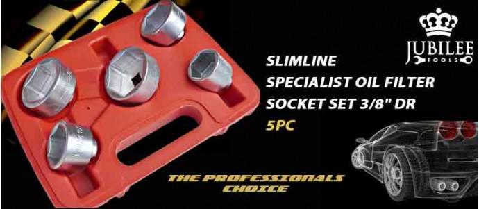 SLIMLINE SPECIALIST OIL FILTER SOCKET SET