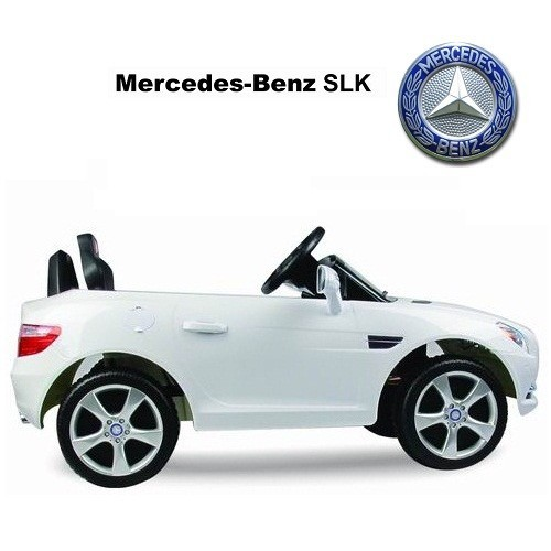 Luxury ride on cars mercedes benz slk 2012 for Mercedes benz ride on car